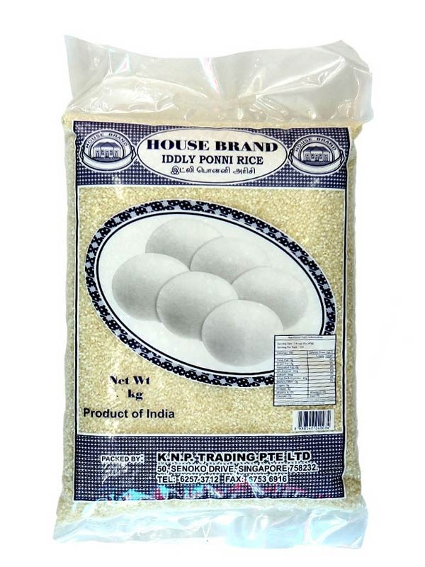 HOUSEBRAND IDDLY PONNI RICE - 5KG